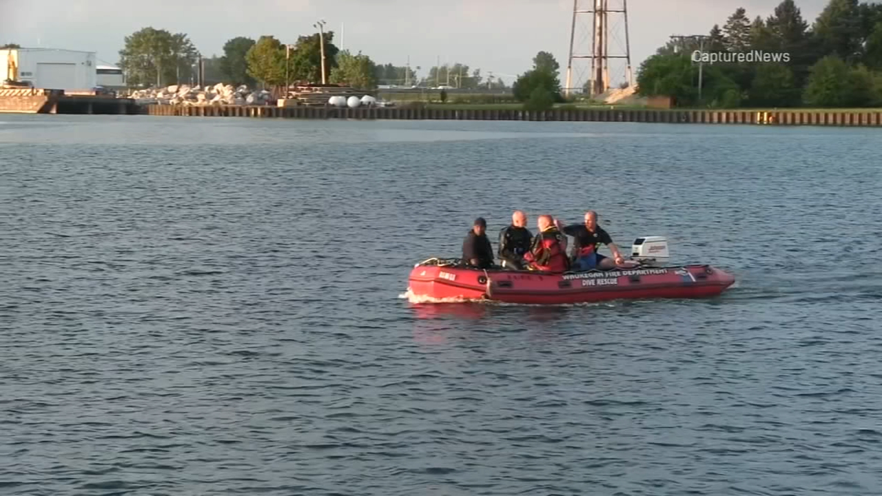 A 14-year-old boy is in critical condition after he was rescued from Lake Michigan near Waukegan Friday.