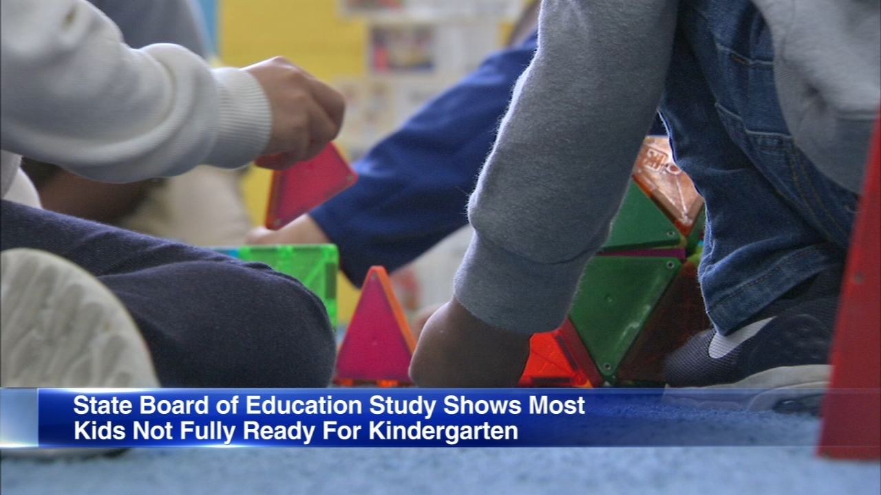 Less than quarter of Illinois children were fully prepared to enter kindergarten last year, a new study by the Illinois Board of Education has found.