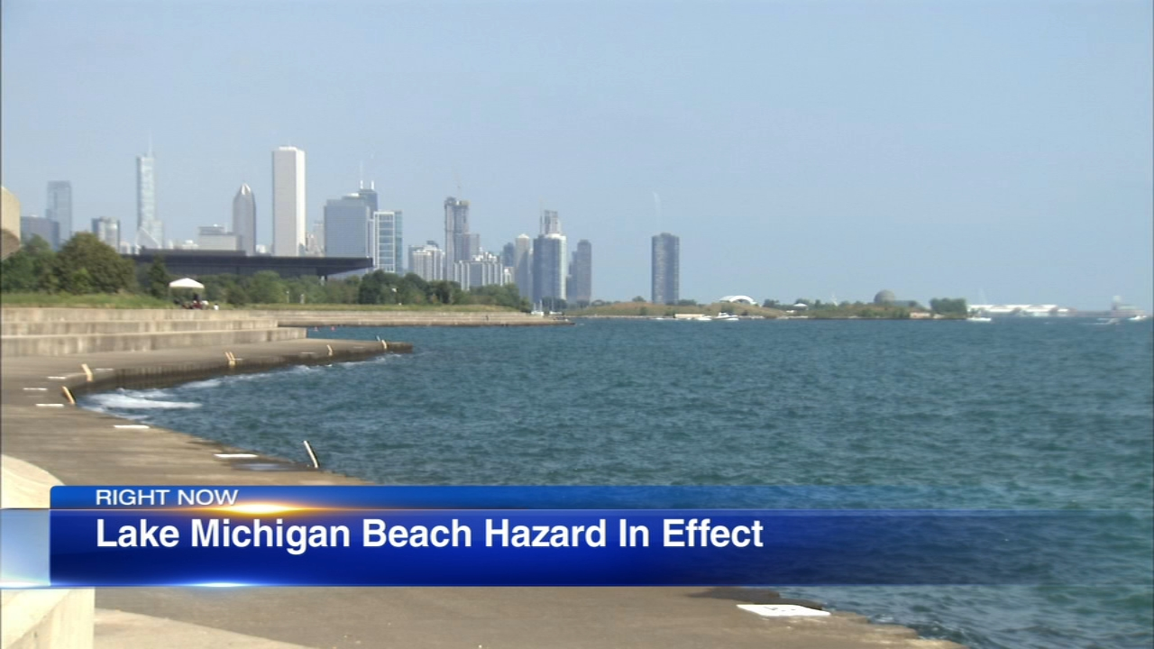 People are being warned about dangerous conditions on Lake Michigan after three weekend drownings.