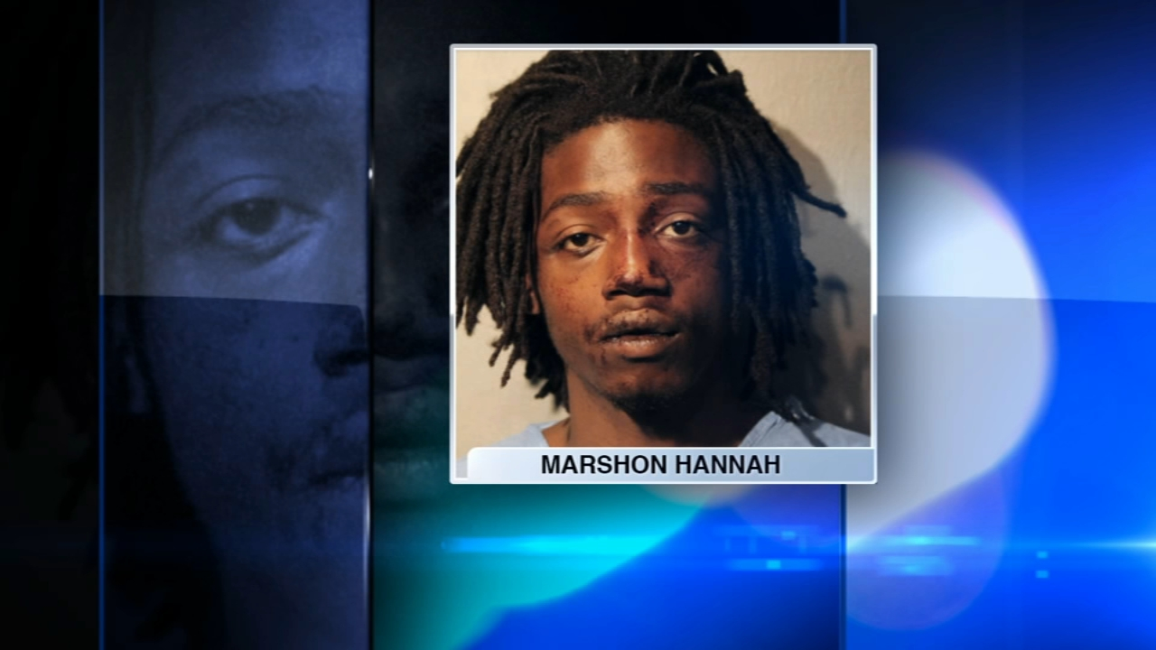 A Chicago man accused of trying to rob someone at gunpoint was attacked by a dog.
