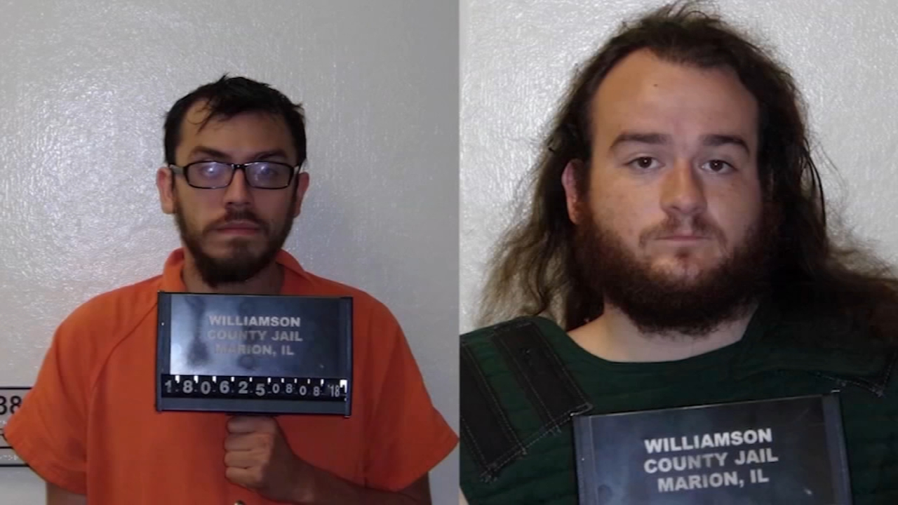 Two Illinois men are accused of using a gaming app to lure a 14-year-old boy from Mississippi.