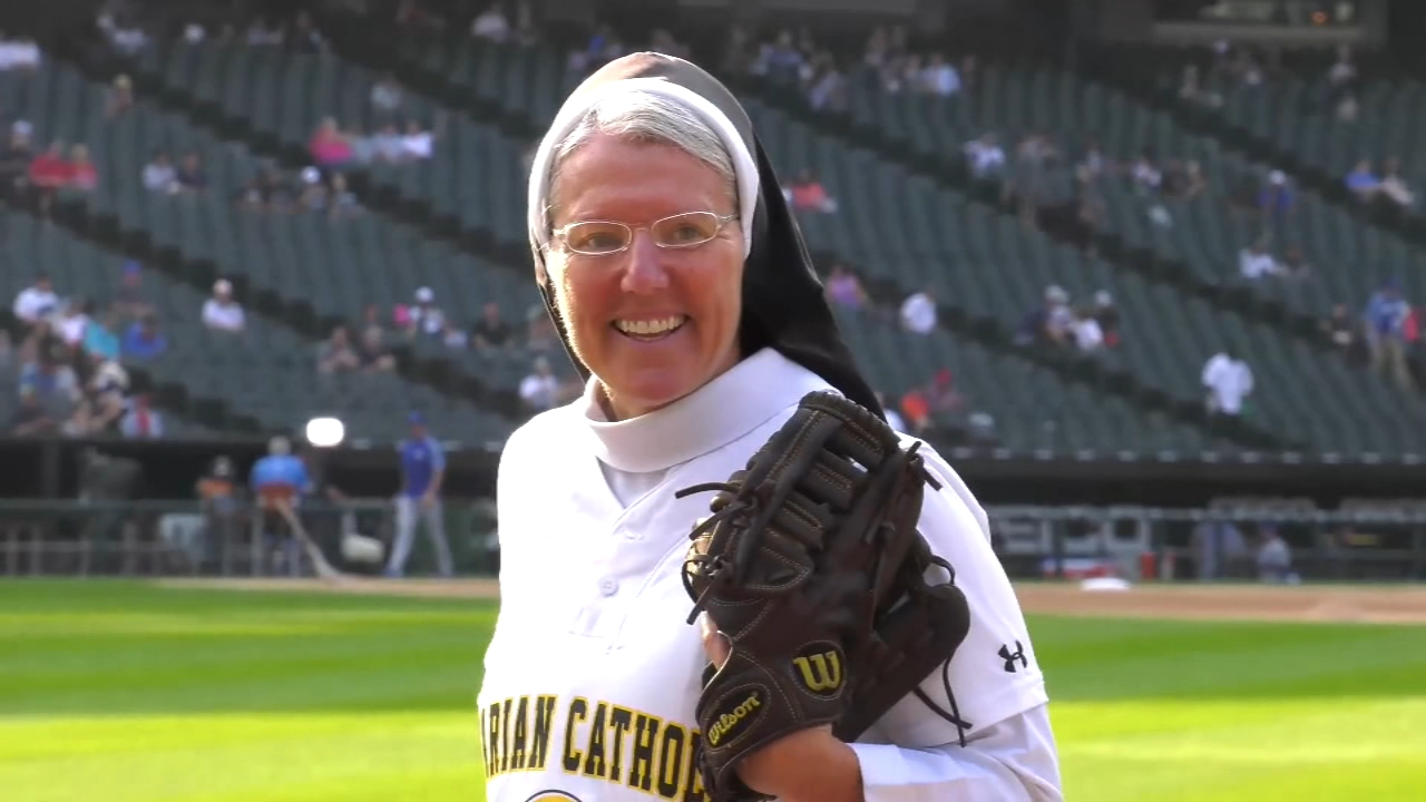 The White Sox might have found some pitching help Saturday night in the form of Marian Catholics Sister Mary Jo Sobiek.