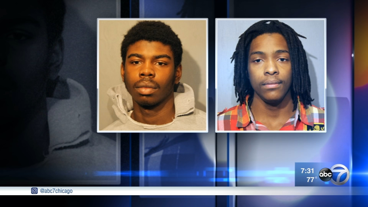 Mickiael Ward and Kenneth Williams are charged in the murder of 15-year-old Hadiya Pendleton.