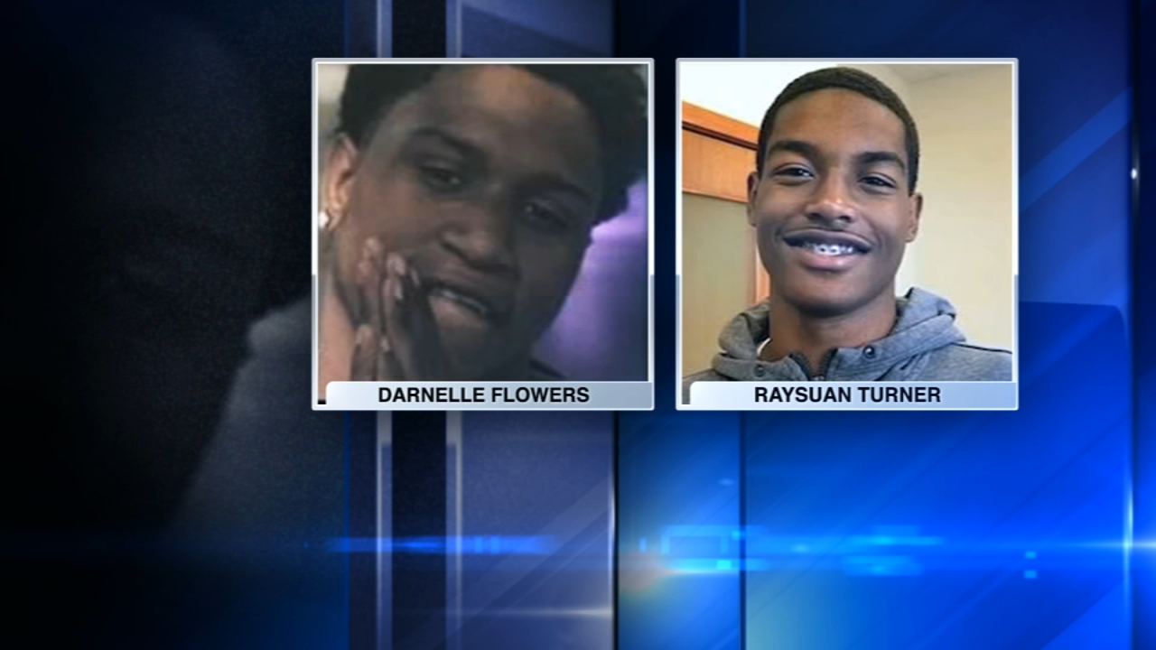 Raysuan Turner, 16, and Darnelle Flowers, 17, were found dead in a field after being reported missing.