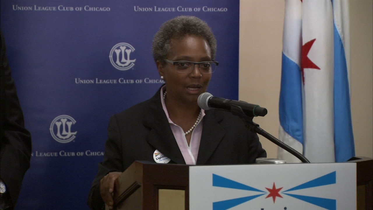 Chicago mayoral candidate Lori Lightfoot is calling the system under Mayor Rahm Emanuel broken and corrupt.