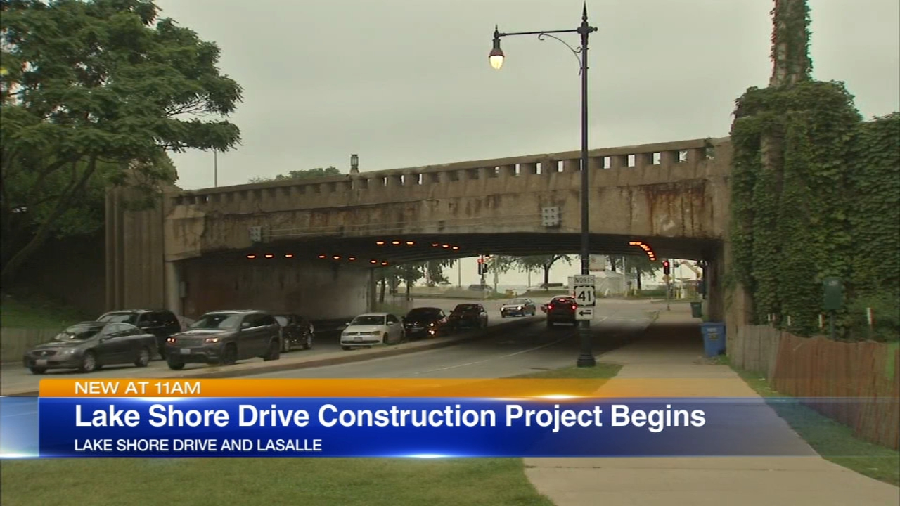 Get ready for a traffic snarl around LaSalle and Lake Shore Drive.