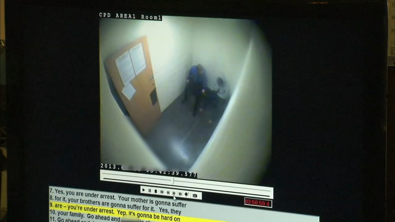 Video of Chicago police questioning Mickiael Ward on Feb. 10, 2013 in the fatal shooting of 15-year-old Hadiya Pendleton.