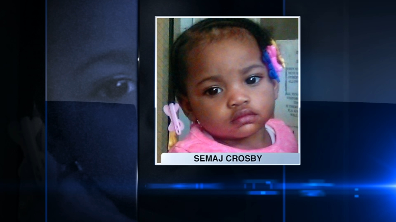 The father of deceased toddler Semaj Crosby is suing the child's mother and a contractor for the Department of Child and Family Services, saying that their negligence led to the to