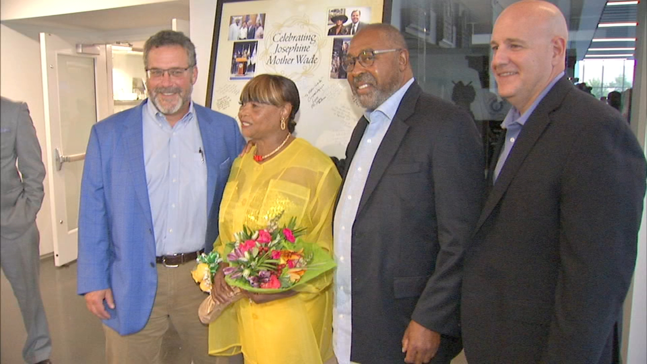 Chicago restaurant owner Josephine Wade was recognized Thursday night during an Evening of Honor and Love.