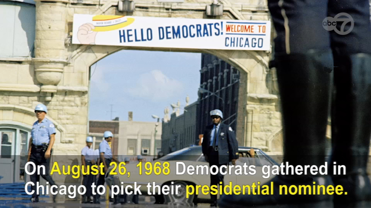 The 1968 Democratic National Convention in Chicago has become one of the emblematic events of the decade, a culmination of years of hope and idealism that spiraled into days of rag
