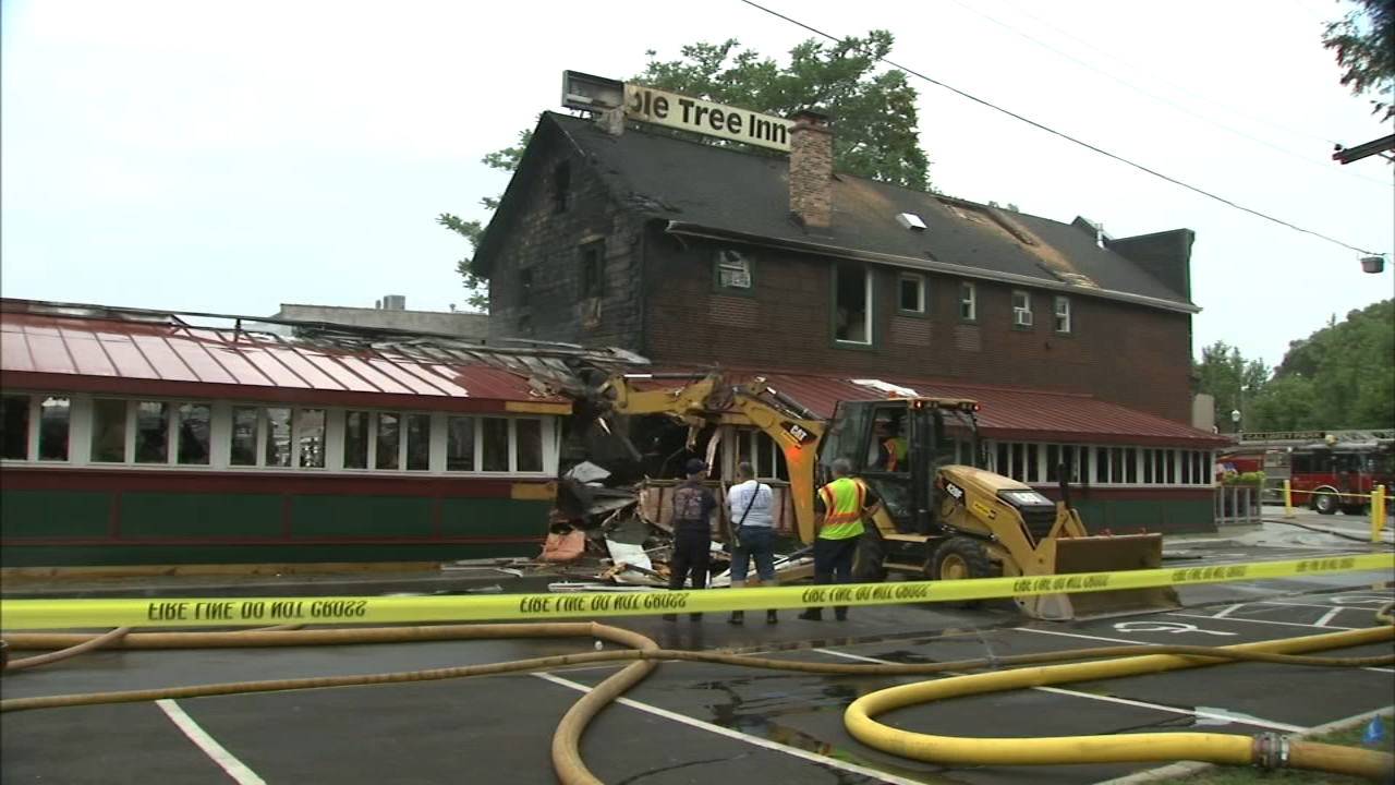 The Maple Tree Inn in Blue Island has been around for 40 years, but was heavily damaged in a fire Friday morning.