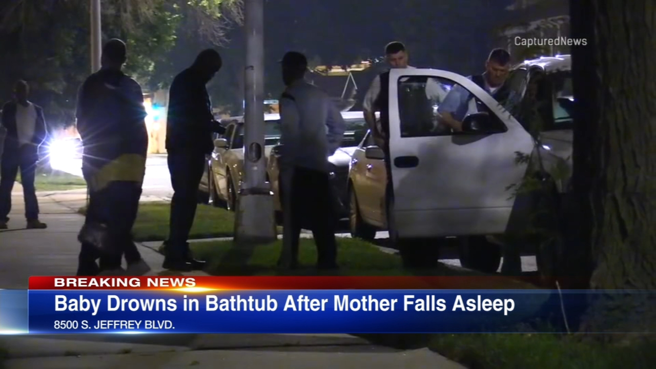 A 4-month-old baby drowned in a bathtub in Avalon Park after police said the mother was giving the baby a bath and fell asleep.
