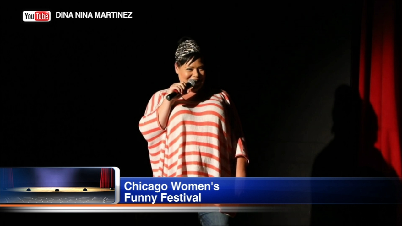 The 7th annual Chicago Womens Funny Festival is taking place this weekend.