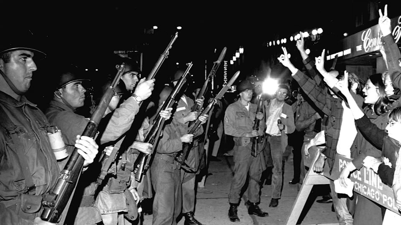 This weekend marked the 50-year anniversary of violent clashes between police and anti-war protestors at the 1968 Democratic National Convention.