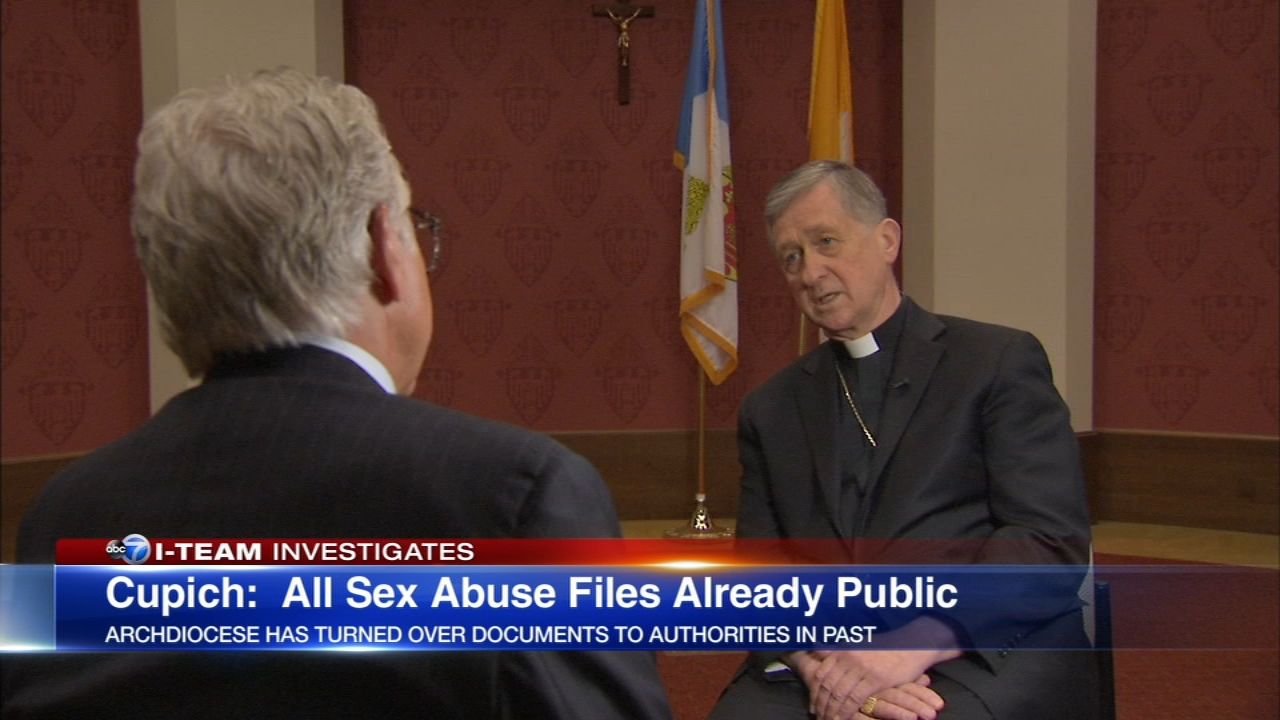 Cardinal Cupich said that archdiocesan officials fully support and are cooperating fully in an inquiry by Illinois Attorney General Lisa Madigan.