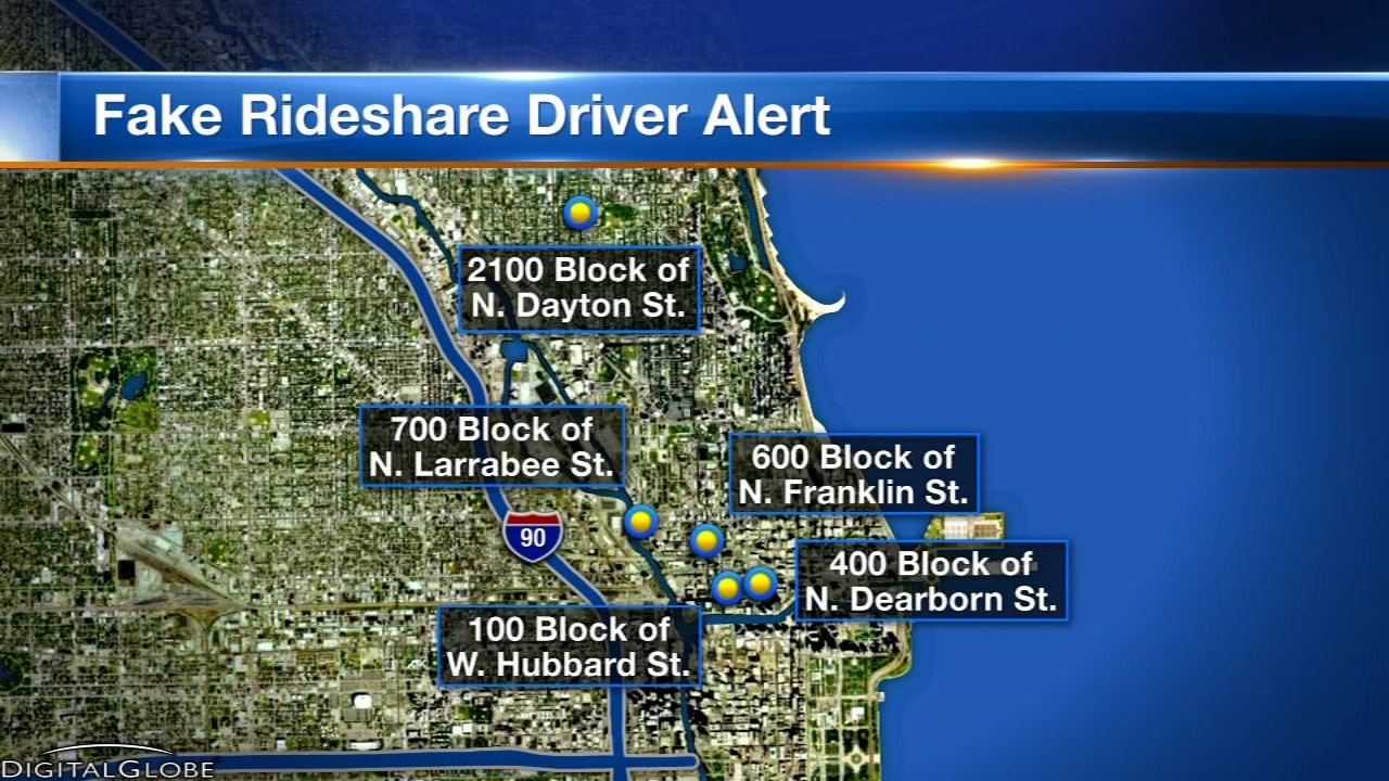 Chicago police have issued an alert about a pair of robbers posing as ride-share drivers on the North Side.