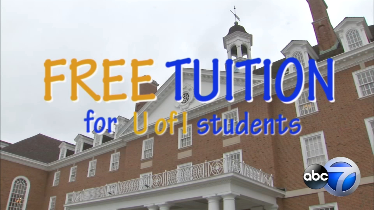 The University of Illinois has a new plan to provide free tuition to some in-state students.