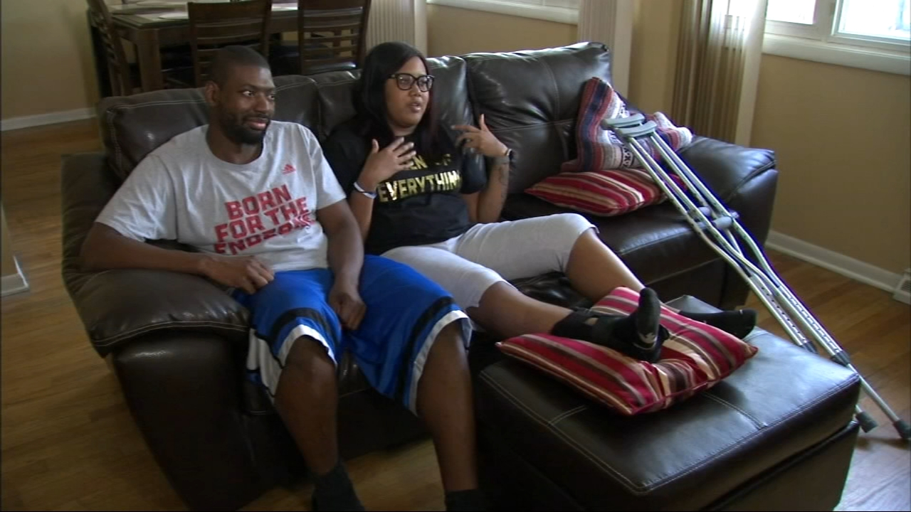 Chicago area couple Marquis Williams and Taylor Poindexter was participating in a gaming tournament when they witnessed a mass shooting in Jacksonville, Florida.