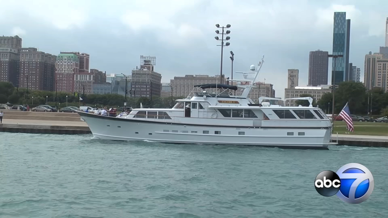 The Chicago Yacht Club welcomed guests from The Chicago Lighthouse for a Lake Michigan cruise Tuesday.