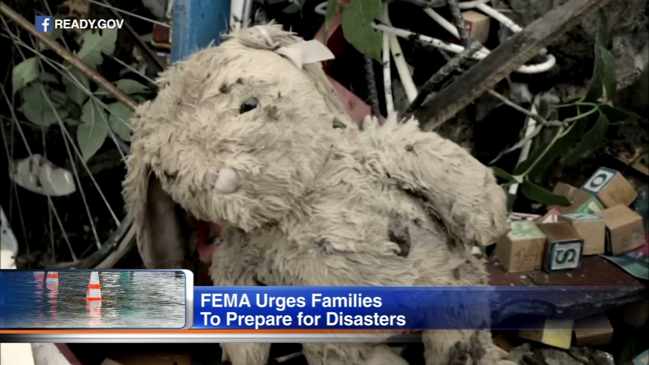 Disasters can happen at any time but less than half of American households have developed a plan should severe weather strike.