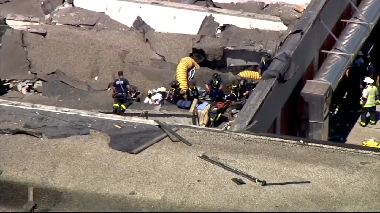 Ten people were injured after the roof of a water reclamation district facility collapsed following an explosion on Chicagos Far South Side in the Riverdale neighborhood Thursday