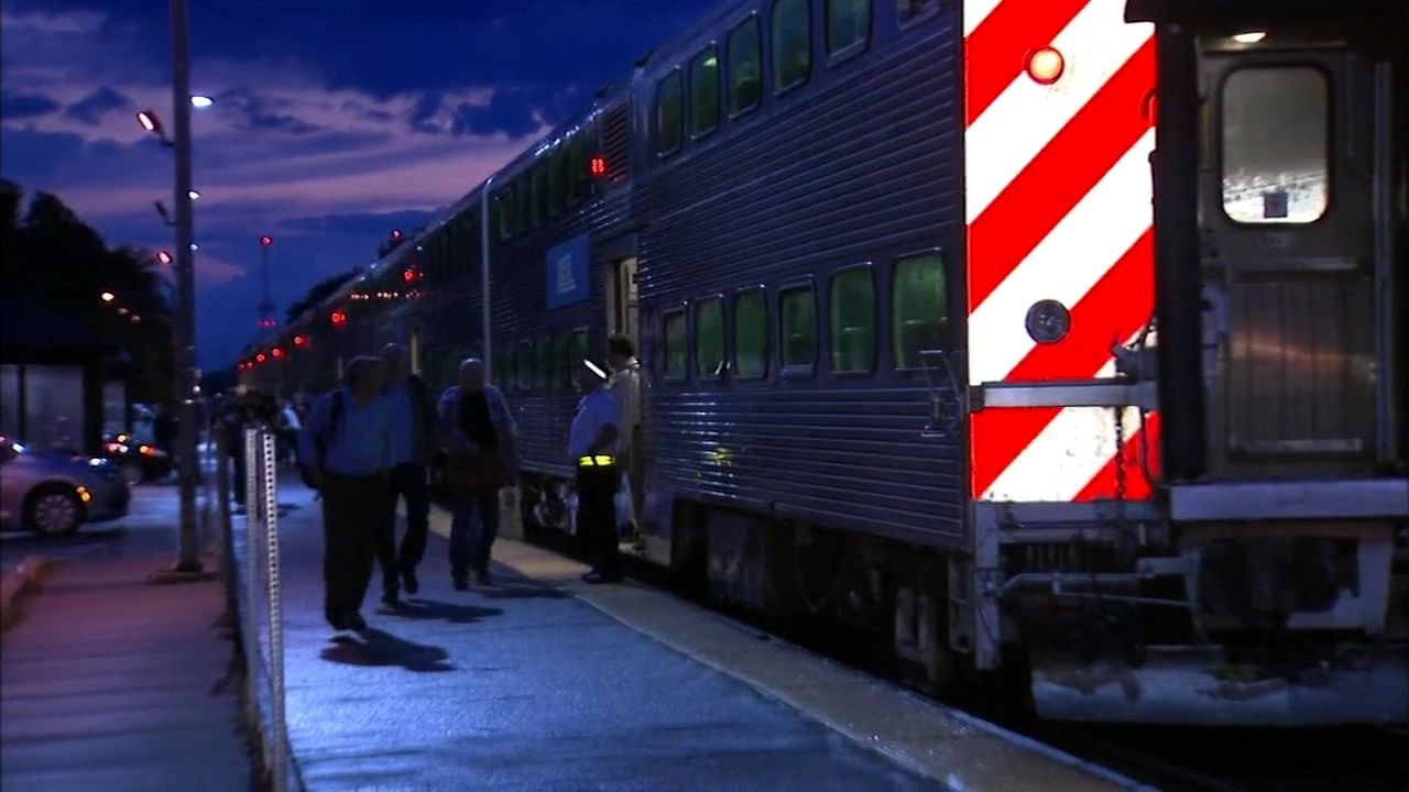 Multiple Metra trains were affected Monday evening when a  tornado warning not issued by the National Weather Service prompted the commuter rail to halt service on several lines fo