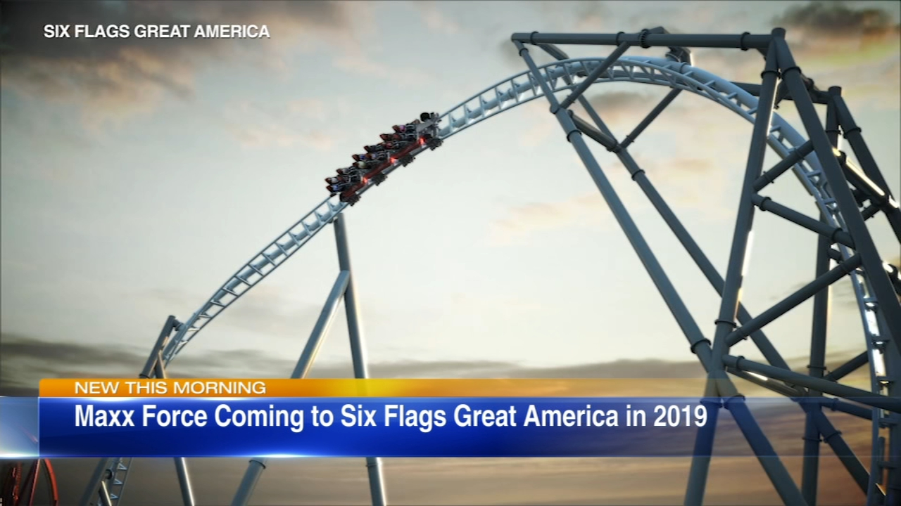 Six Flags Great America has announced a new roller coaster Maxx Force coming to the amusement park in Gurnee in 2019.