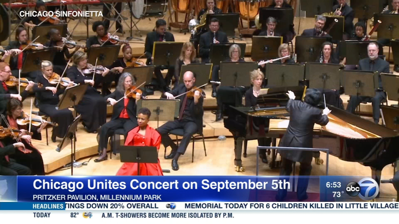 Chicago United will hold Chicago Unites, a concert to celebrate diversity, on Wednesday.