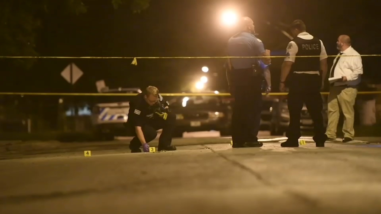 Two girls are recovering after they were shot on Chicagos South Side Sunday night.