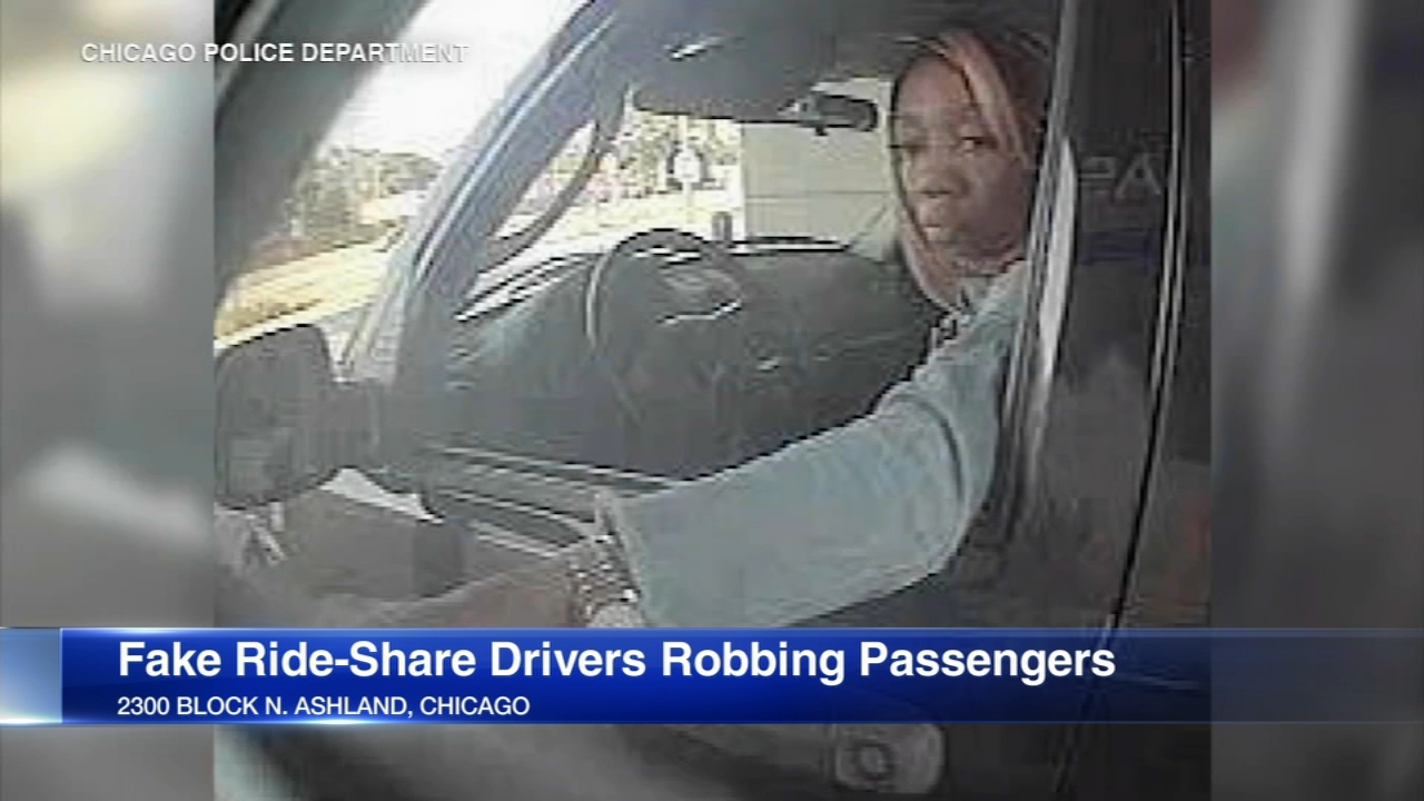 Chicago police are warning anyone who uses ride-sharing services like Uber or Lyft after a new rash of fake ride-share drivers robbing passengers.