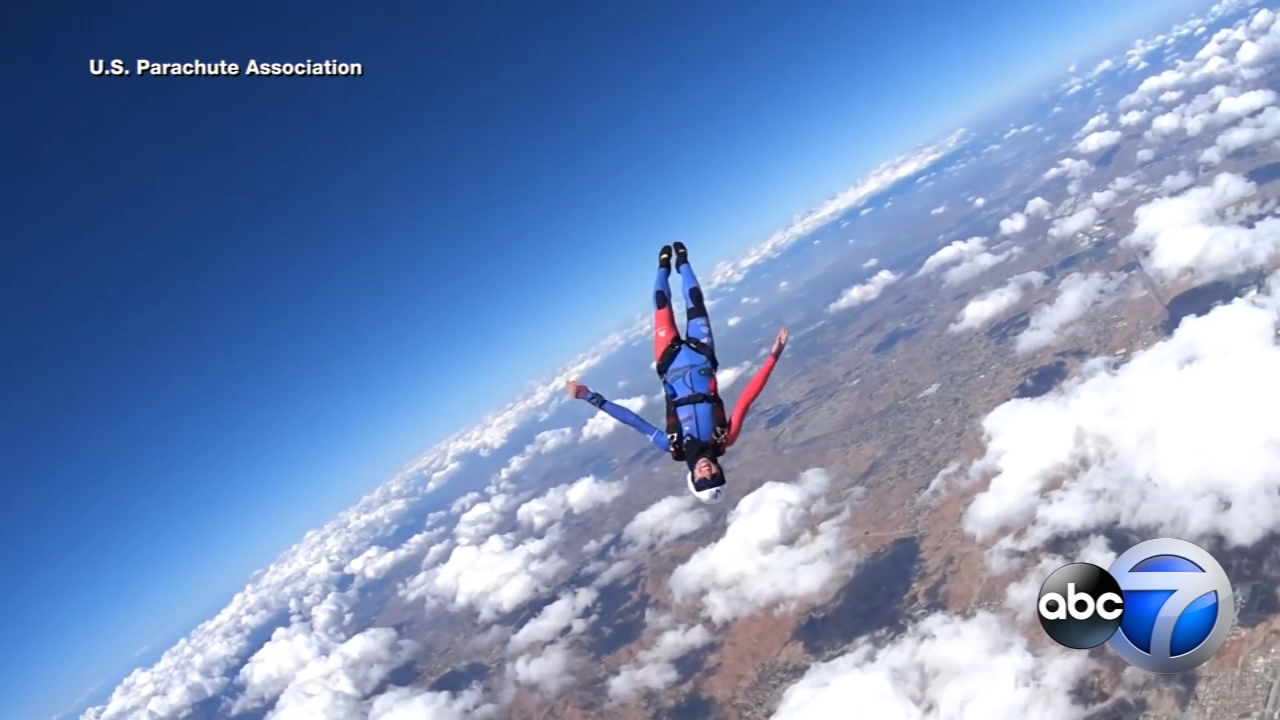 The national skydiving championships have descended upon Chicagoland, with hundreds competing out of Rochelle, Ill., for the next two weeks.