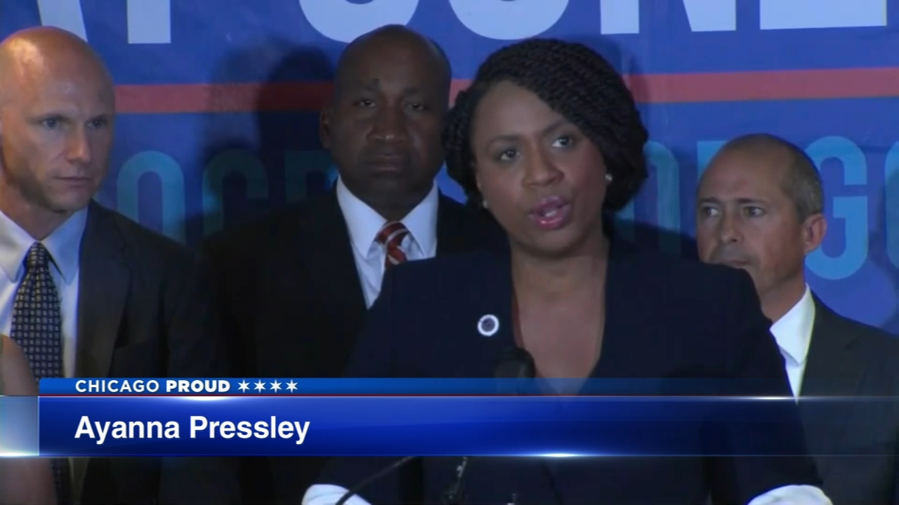 Chicago born-and-raised Ayanna Pressley trounced her opponent in the Democratic primary Tuesday for the 7th Congressional District in Massachusetts.