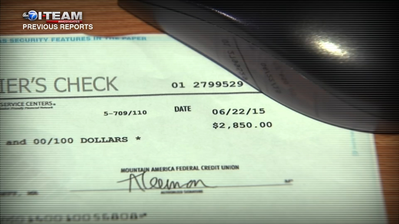 Scammers will send you a check in the mail that looks real. Dont cash it - this type of fraud is on the rise.