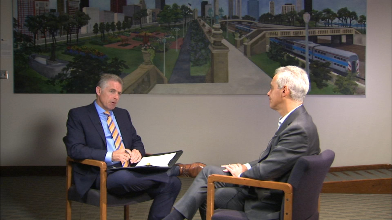 ABC7 political reporter Craig Wall spoke to Mayor Rahm Emanuel a day after announcing that he will not seek a third term.