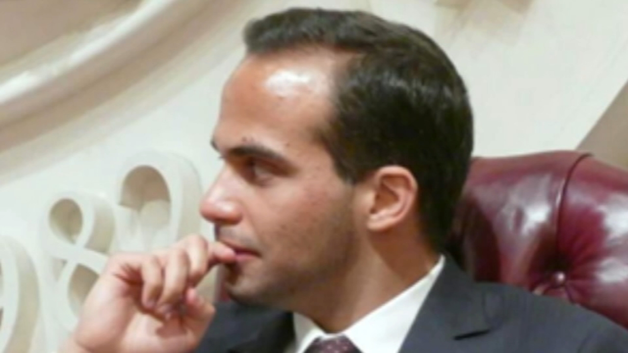 George Papadopoulos, 31, was a foreign policy adviser on the Trump campaign.