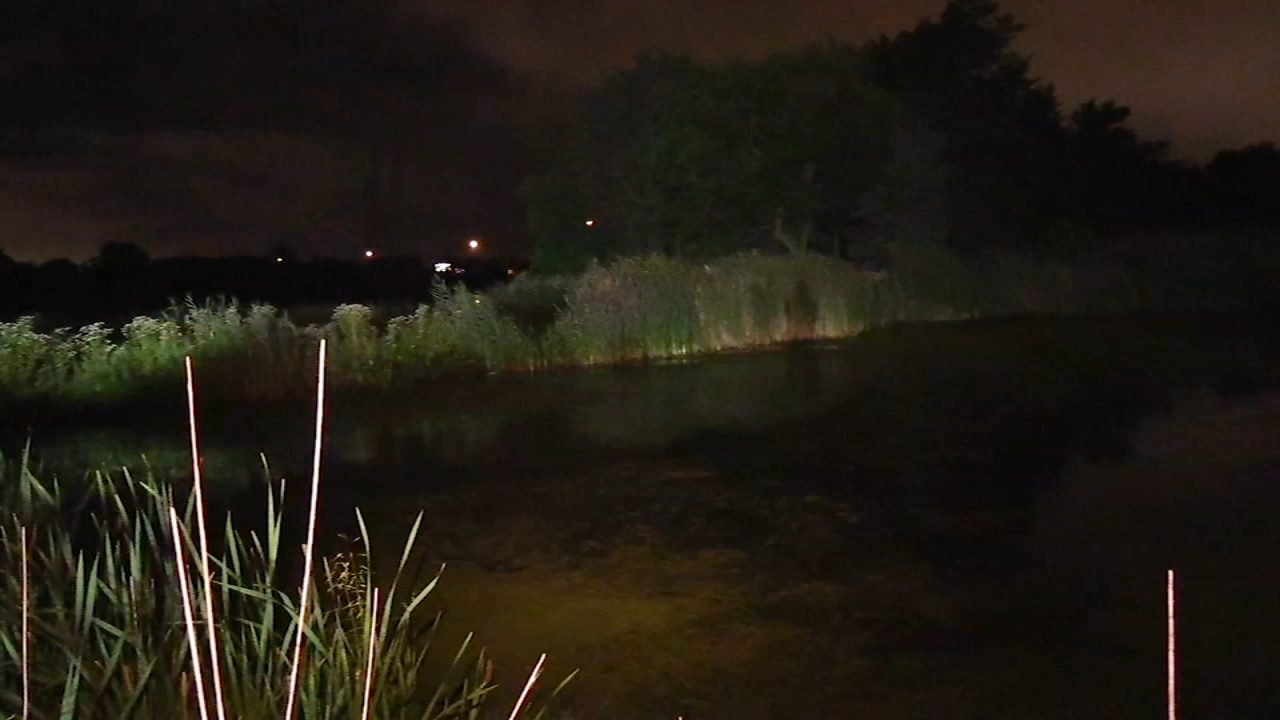 A 27-year-old woman died after police said she jumped into the water in Lake Station, Ind. Wednesday night.