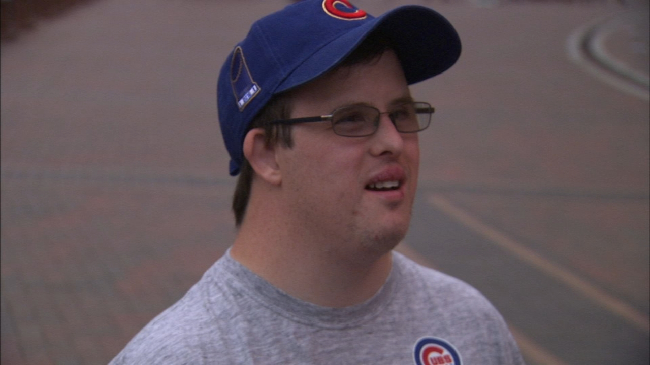 One dedicated Cubs fan just saw their dream come true.