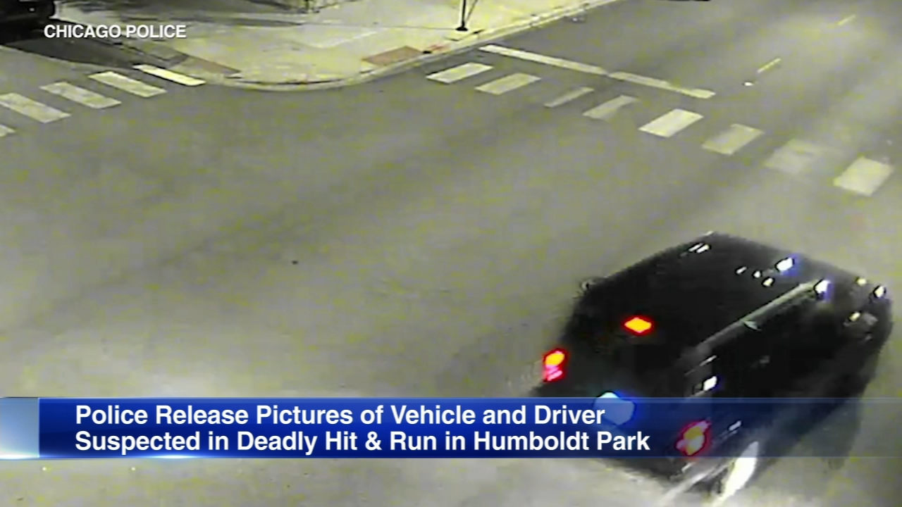 Chicago police have released surveillance images of an SUV police said struck and killed a man in Humboldt Park last month.