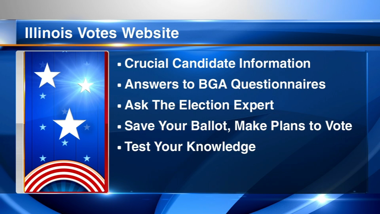 The Better Government Association has released a voter information website called Illinois Votes.