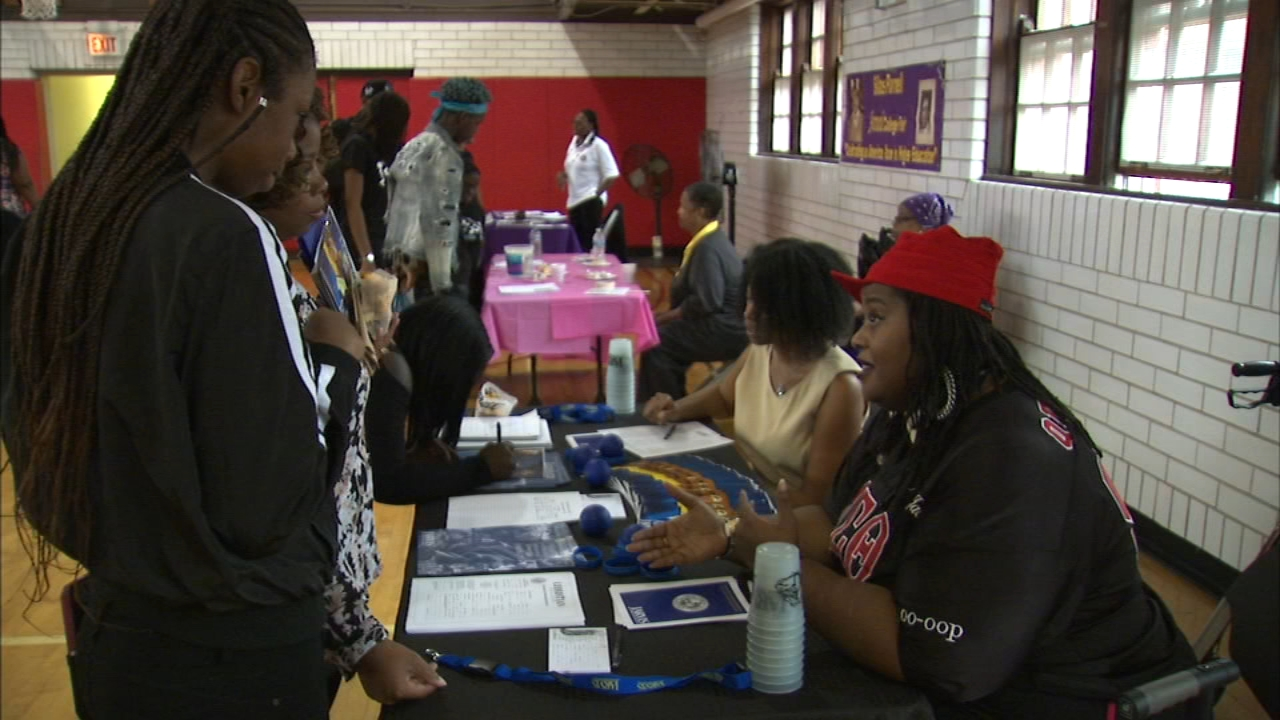 The 14th annual Silas Purnell College Expo was held Saturday on Chicagos South Side.