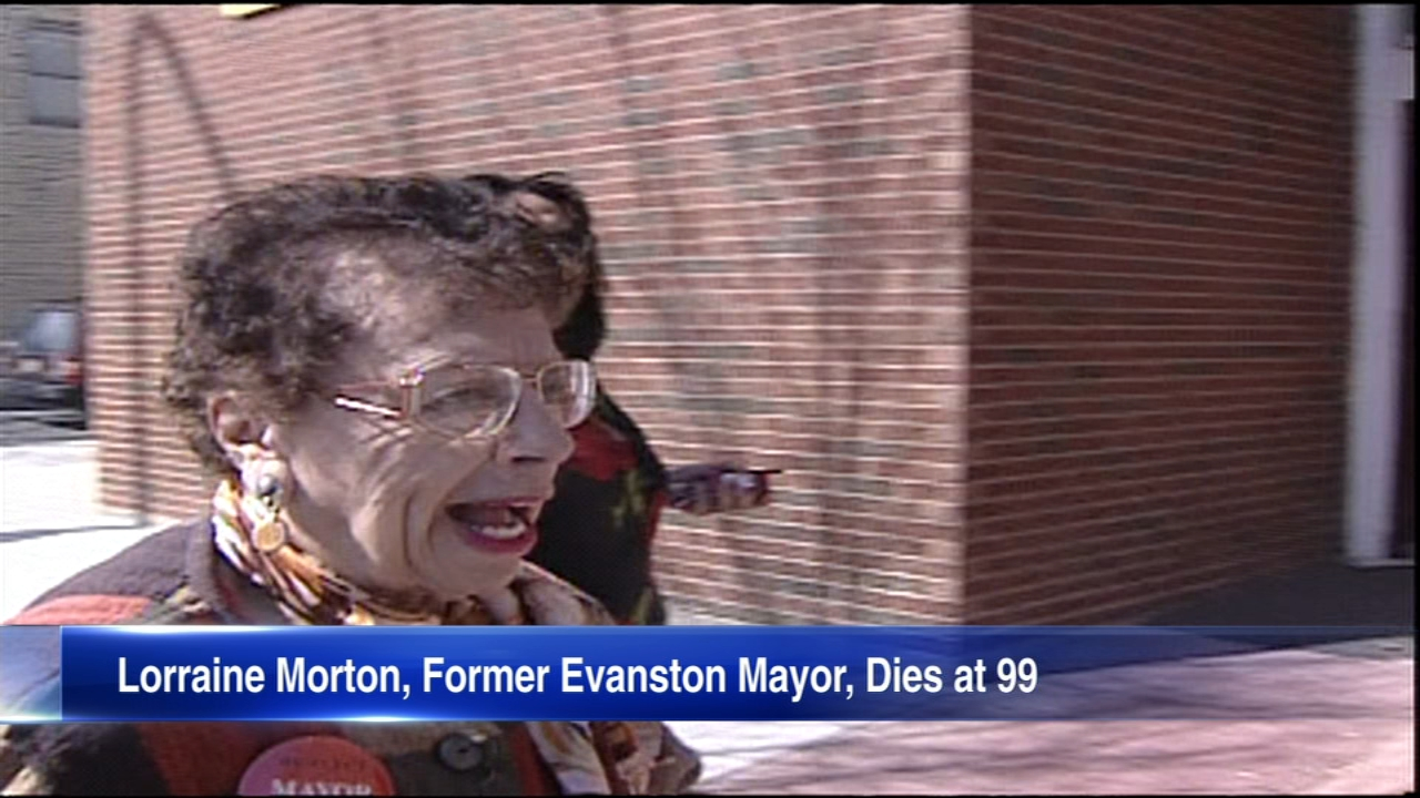 Lorraine Morton was Evanstons first African American mayor.