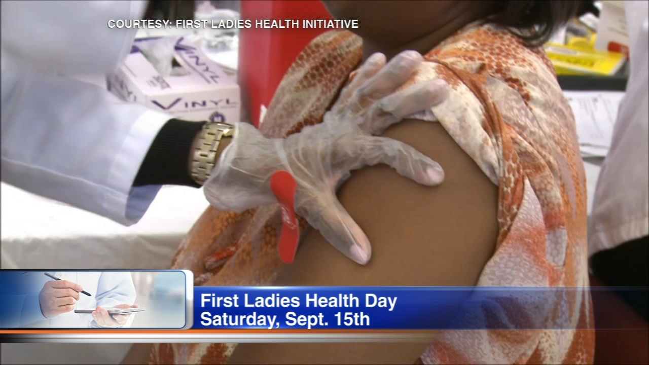 First Ladies Health Day will be held September 15.