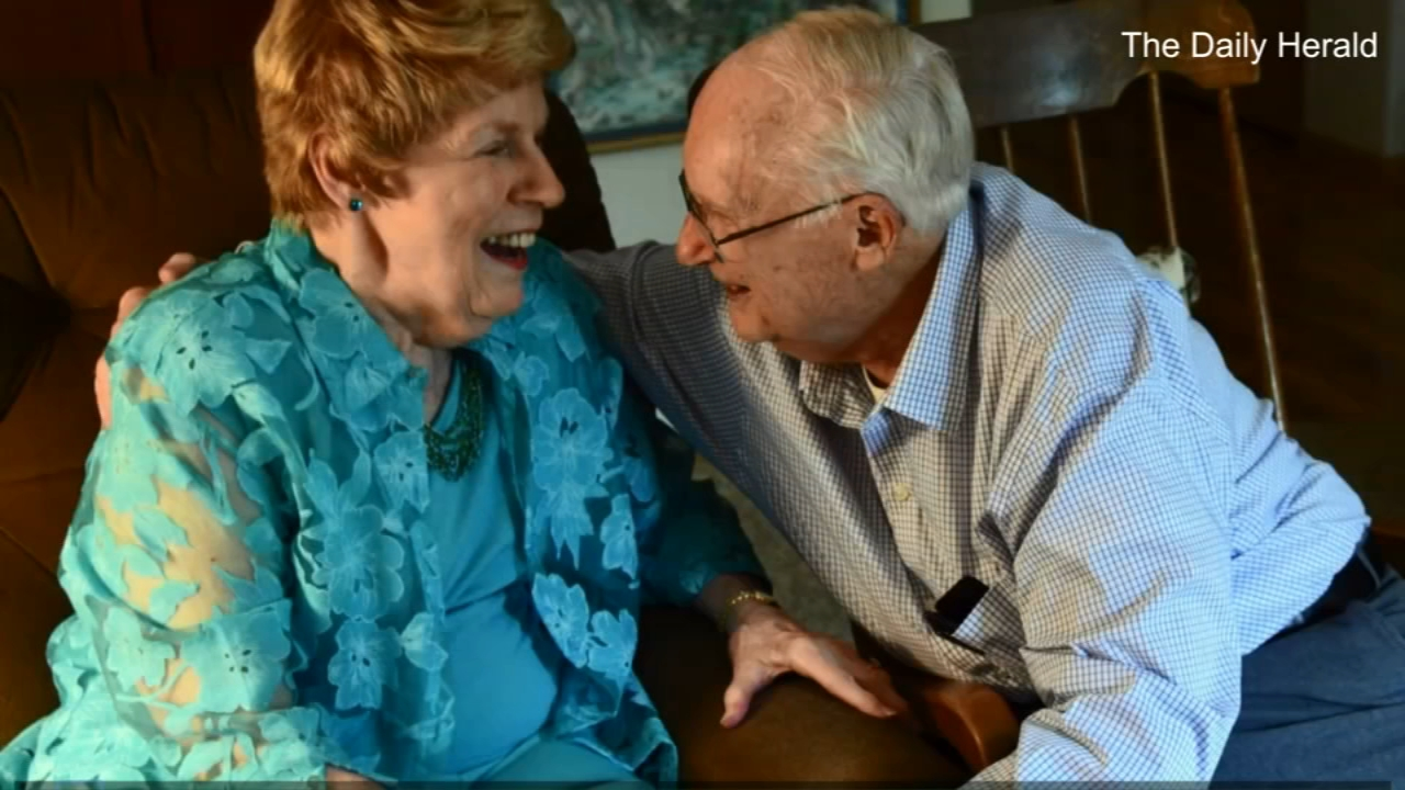 A couple in their 80s has found love again after losing their spouses and moving into a senior living community.