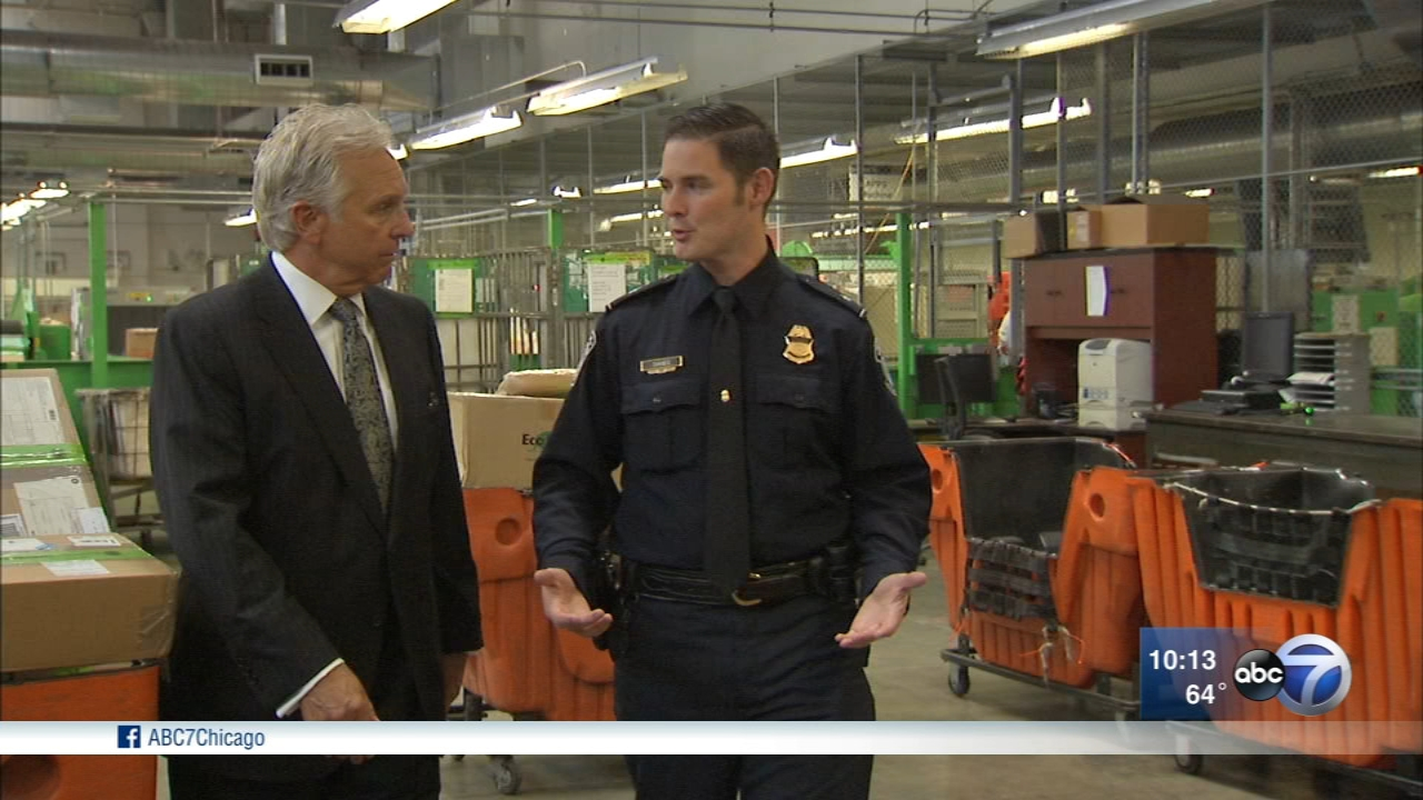 Chuck Goudie and the ABC7 I-Team are with specialized U.S. Customs and Border Protection teams on the frontline - in Chicago.