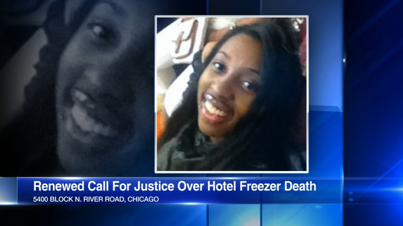 Monday marks one year since a young woman was found dead inside a hotel freezer in Rosemont.