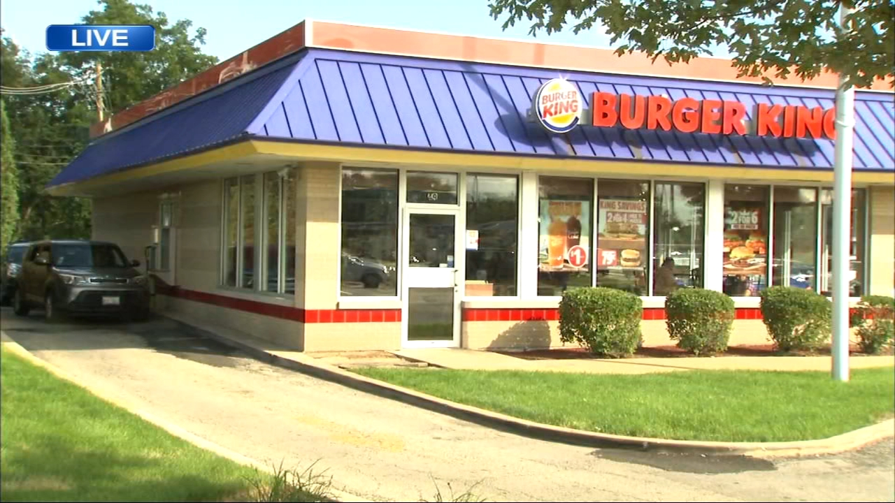 Maywood police were involved in a shooting outside a Burger King in Maywood.