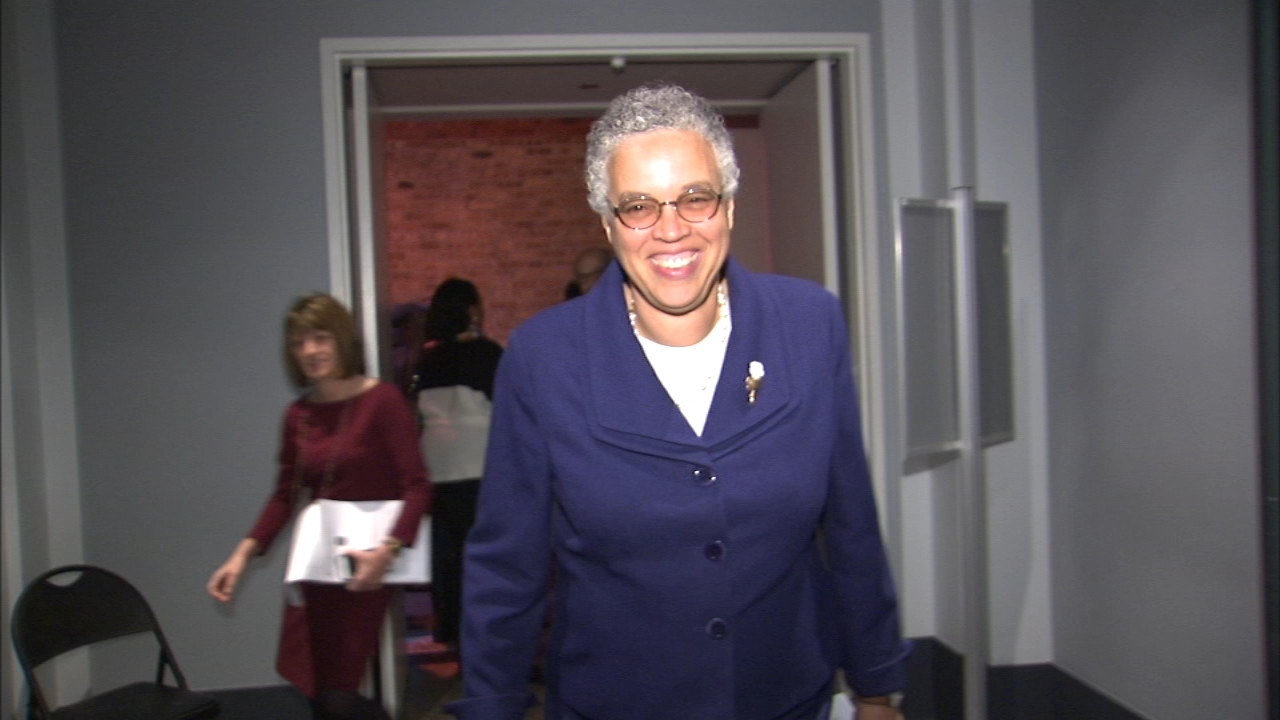 Cook County Board President Toni Preckwinkle is closer to a decision tonight about a possible bid for Chicago mayor.