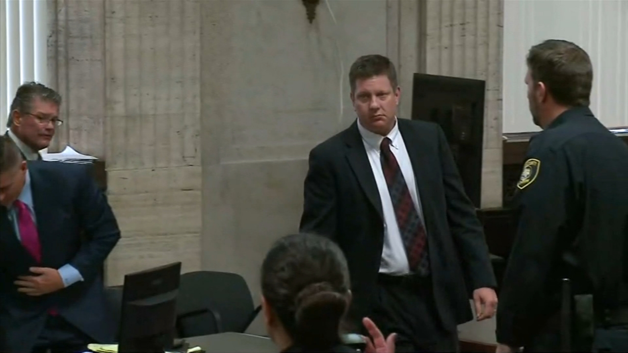 The first four jurors in the trial of Jason Van Dyke were sworn in by Monday afternoon.