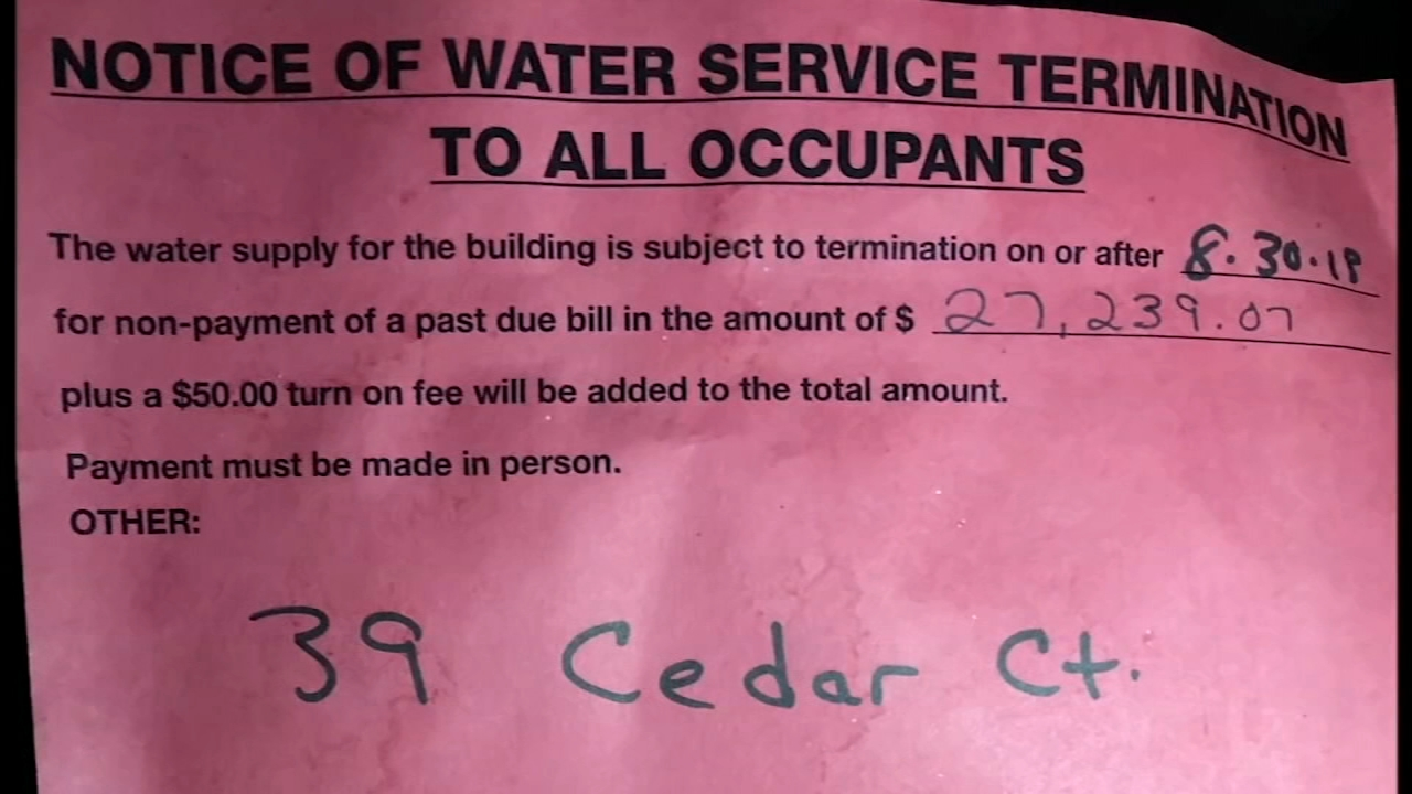 Residents of a mobile home park in south suburban Calumet City are upset Tuesday night over a lack of running water.