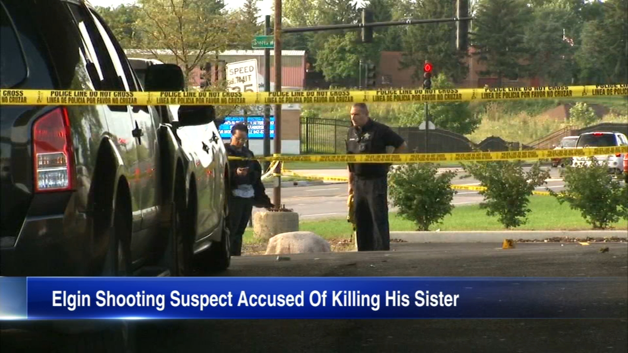 A Chicago man is now accused of killing his own sister outside an Elgin bar.